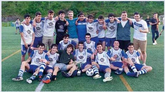 Amara-Berri campeón de Copa en la categoría Gipuzkoa 1ª juvenil