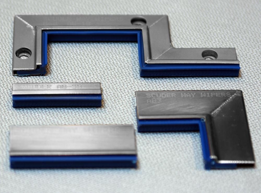 Limpia Guías para máquina-herramienta / Rascadores Lineales para máquina herramienta Serie AB-Azul