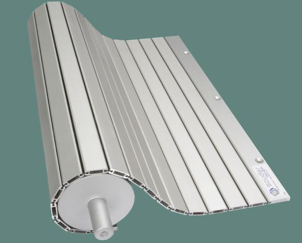 Persiana de protección pisable cubre fosos modelo PHR-ENR