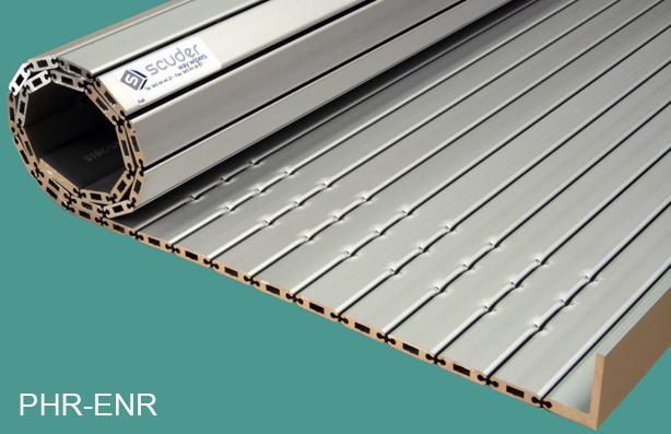Persianas de protección para máquina-herramienta de aluminio hueca PHR-ENR