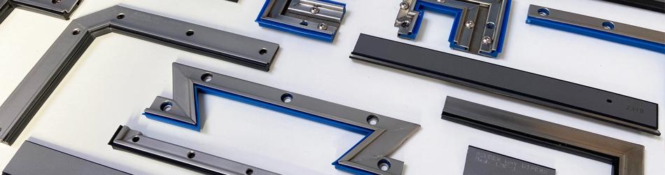 Limpia guías lineales para máquina-herramienta | Rascadores para guías lineales