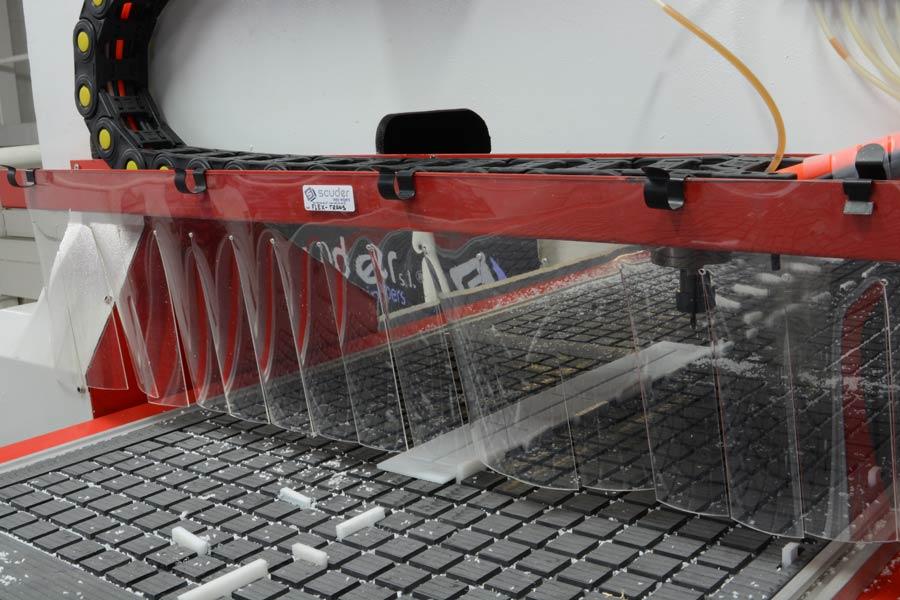 Cortina PVC Trasera