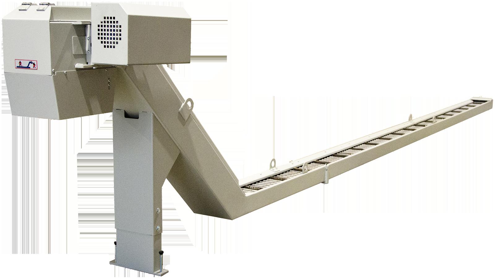 Extractor de virutas para máquina-herramienta de Scuder