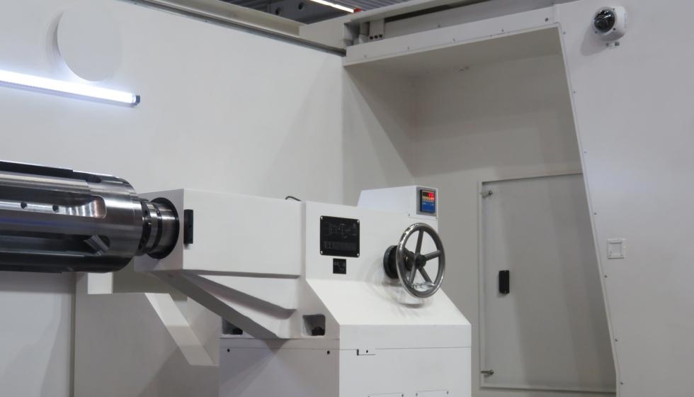 Las cámaras de videovigilancia de alta definición facilitan el control de procesos de mecanizado