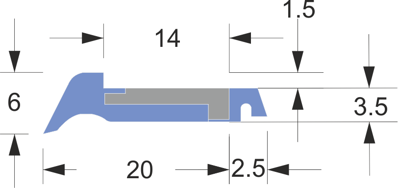 limpia guias serie ln-3 corto