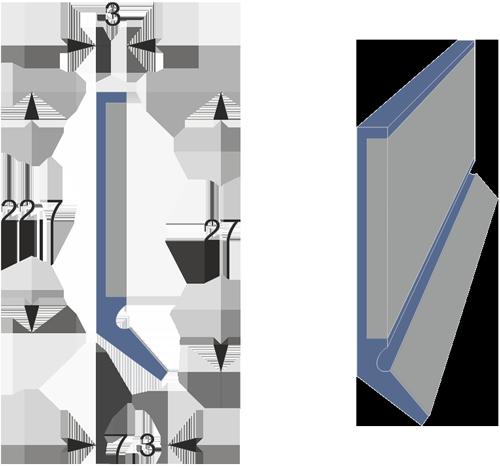 Limpia guías tipo LMCS-1 con protector inox.
