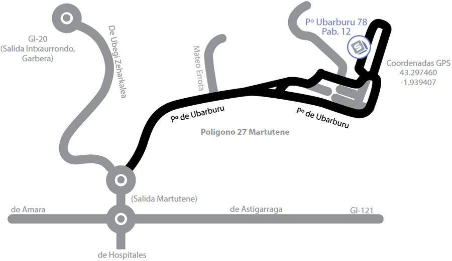 Mapa ubicación Scuder