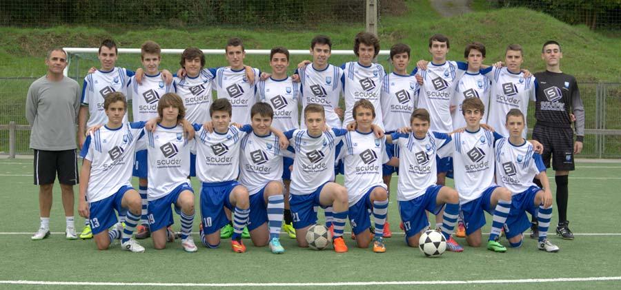 Scuder patrocina al equipo de fútbol Amara Berri K.E.