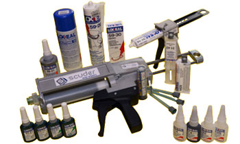Adhesivos, fijadores, retenedores y selladores LOXEAL especiales para la máquina-herramienta
