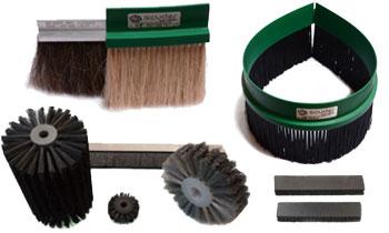 Cepillos técnicos para máquinas - Para la limpieza de suciedad en maquinaria y cadenas de producción