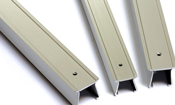 Cubre ranuras de aluminio para máquina-herramienta