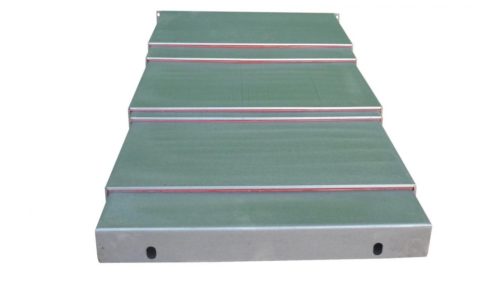 Defensas telescópicas para la protección de guías y husillos de Scuder Way Wipers