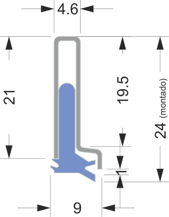 Limpia Guías / Rascadores para maquinaria serie AB-3