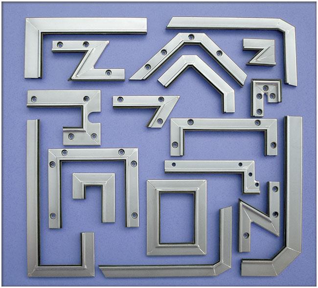 Ejemplos de limpia guias / rascadores para maquinaria