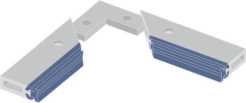 Limpia Guías para máquinas / Rascadores Lineales para máquinas serie LAW-DL 3D