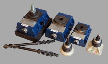 Niveladores para maquinaria SPINELLI - Elementos de anclaje y nivelación