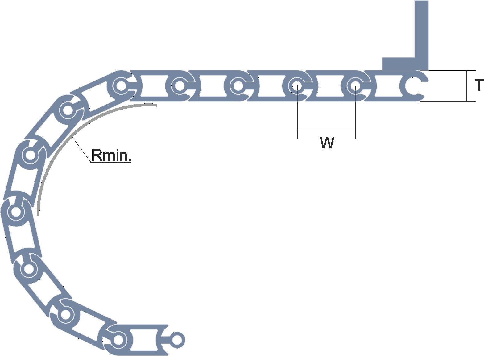 Persiana de protección para máquina-herramienta Modelo CLA