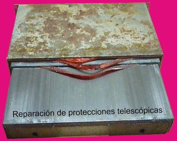 Reparación de protecciones telescópicas
