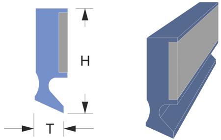 limpia guías / rascador serie lmf