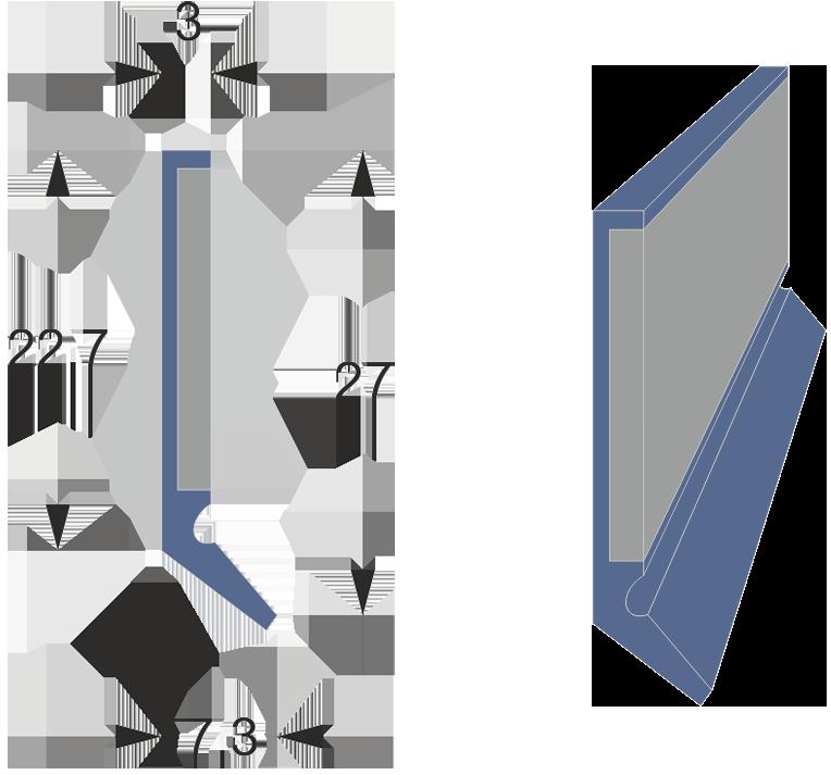 Limpia guías / Rascador serie LMCS-3