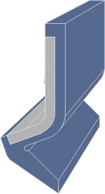 Limpia Guías / Rascador Vulcanizado Serie LMN extrusionado