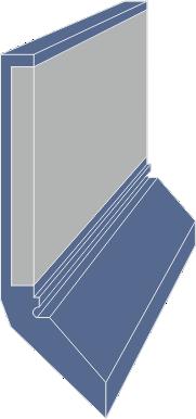 Limpia Guías / Rascador Vulcanizado Serie LMP