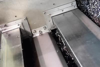 Limpia guías | Rascador montado en máquina