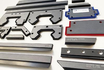 Limpia guías | Rascadores Vulcanizados para maquinaria industrial de Scuder Way Wipers