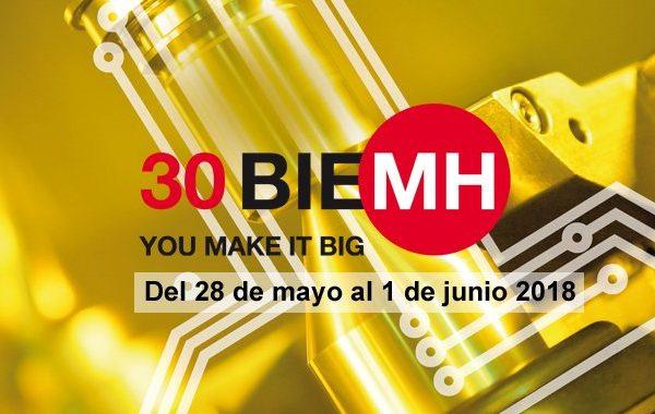 Participamos en la próxima 30 edición de la Feria BIEMH en Bilbao (28 Mayo – 01 Junio)